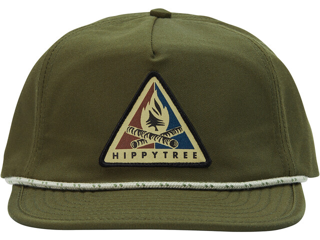 Hippy Tree Bonfire Casquette Homme, military